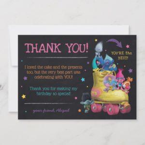 Trolls Snack Pack Birthday | Thank You