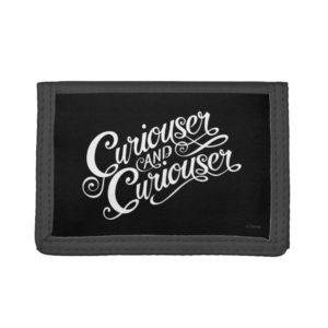 Typography | Curiouser and Curiouser 4 Tri-fold Wallet