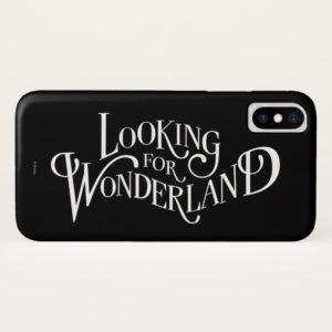 Typography | Looking for Wonderland 4 Case-Mate iPhone Case