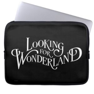 Typography | Looking for Wonderland 4 Computer Sleeve