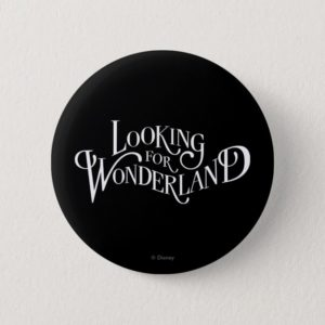 Typography | Looking for Wonderland Pinback Button