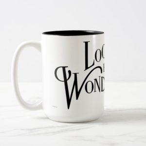 Typography | Looking for Wonderland Two-Tone Coffee Mug