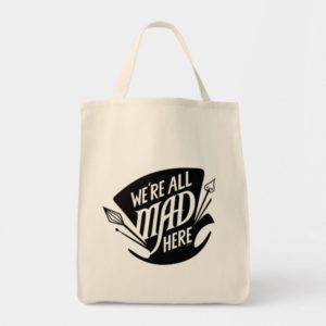 Typography | We're all Mad Tote Bag