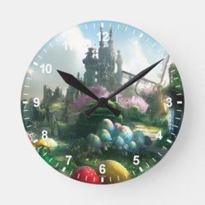 Underland Round Clock