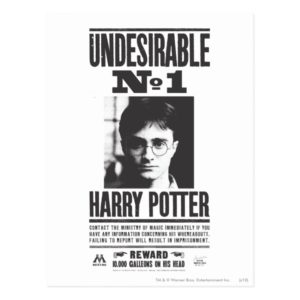 Undesirable No 1 Postcard