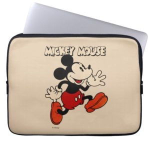 Vintage Mickey Mouse Computer Sleeve