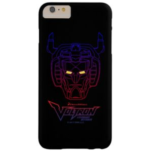 Voltron | Blue-Red Gradient Head Outline Case-Mate iPhone Case