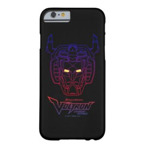Voltron | Blue-Red Gradient Head Outline Case-Mate iPhone Case