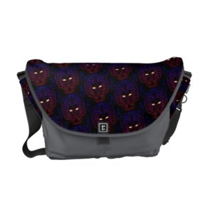 Voltron | Blue-Red Gradient Head Outline Courier Bag