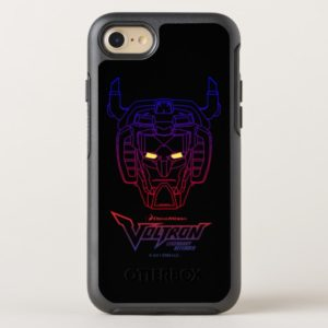 Voltron | Blue-Red Gradient Head Outline OtterBox iPhone Case