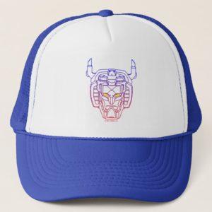 Voltron | Blue-Red Gradient Head Outline Trucker Hat