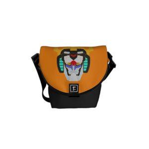 Voltron | Colored Voltron Head Graphic Courier Bag
