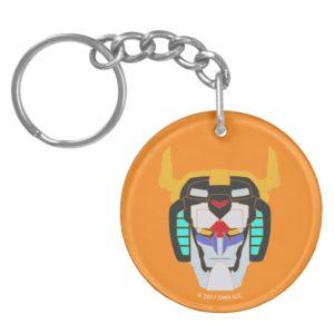Voltron   Colored Voltron Head Graphic Keychain