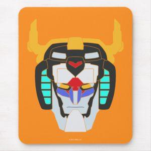 Voltron   Colored Voltron Head Graphic Mouse Pad