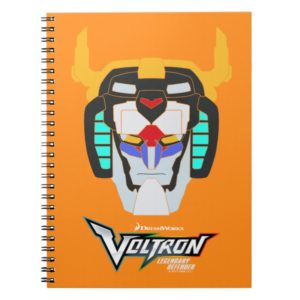 Voltron   Colored Voltron Head Graphic Notebook