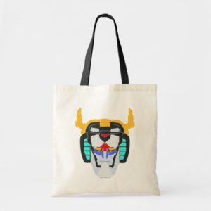 Voltron | Colored Voltron Head Graphic Tote Bag