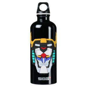 Voltron   Colored Voltron Head Graphic Water Bottle