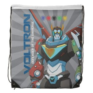 Voltron   Defender of the Universe Drawstring Backpack