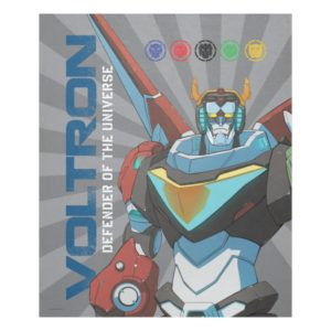 Voltron | Defender of the Universe Fleece Blanket