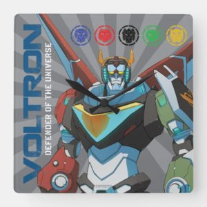 Voltron | Defender of the Universe Square Wall Clock