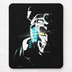 Voltron   Gleaming Eye Silhouette Mouse Pad