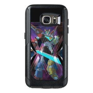 Voltron   Intergalactic Voltron Graphic OtterBox Samsung Galaxy S7 Case