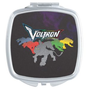 Voltron | Lions Charging Compact Mirror