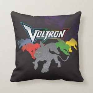 Voltron | Lions Charging Throw Pillow