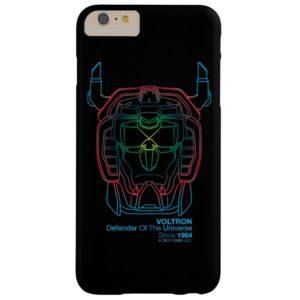 Voltron | Pilot Colors Gradient Head Outline Case-Mate iPhone Case