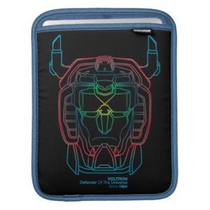 Voltron | Pilot Colors Gradient Head Outline iPad Sleeve