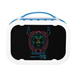 Voltron   Pilot Colors Gradient Head Outline Lunch Box