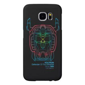 Voltron | Pilot Colors Gradient Head Outline Samsung Galaxy S6 Case