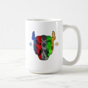 Voltron | Pilots In Voltron Head Coffee Mug