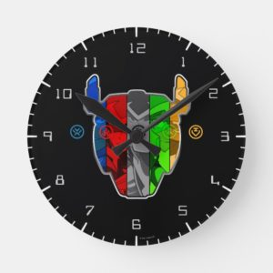 Voltron | Pilots In Voltron Head Round Clock