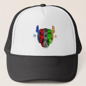 Voltron | Pilots In Voltron Head Trucker Hat
