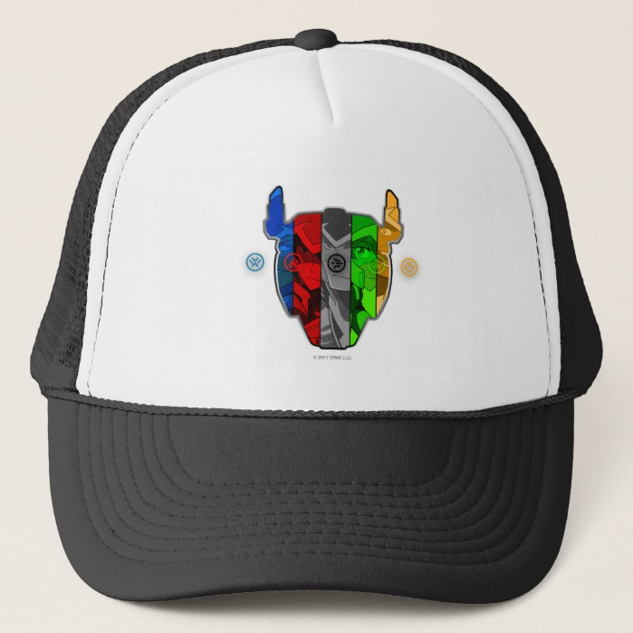 Voltron | Pilots In Voltron Head Trucker Hat