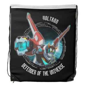 Voltron | Red Lion Plasma Beam Drawstring Backpack