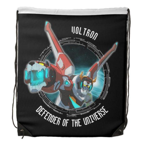 Voltron   Red Lion Plasma Beam Drawstring Backpack