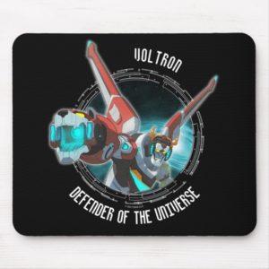 Voltron | Red Lion Plasma Beam Mouse Pad