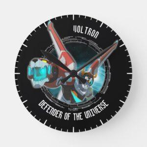 Voltron | Red Lion Plasma Beam Round Clock