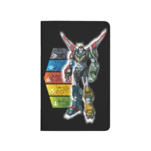 Voltron | Voltron And Pilots Graphic Journal