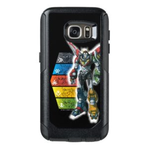 Voltron   Voltron And Pilots Graphic OtterBox Samsung Galaxy S7 Case