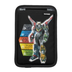 Voltron | Voltron And Pilots Graphic Sleeve For iPad Mini