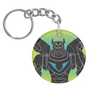 Voltron | Voltron Black Silhouette Keychain