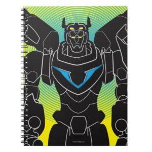 Voltron   Voltron Black Silhouette Notebook