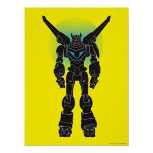 Voltron | Voltron Black Silhouette Poster