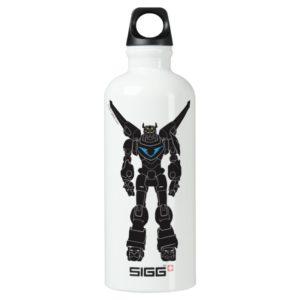 Voltron   Voltron Black Silhouette Water Bottle