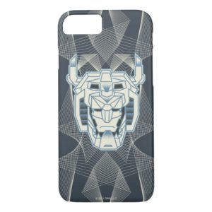 Voltron | Voltron Head Blue and White Outline Case-Mate iPhone Case