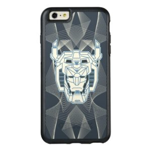 Voltron | Voltron Head Blue and White Outline OtterBox iPhone Case