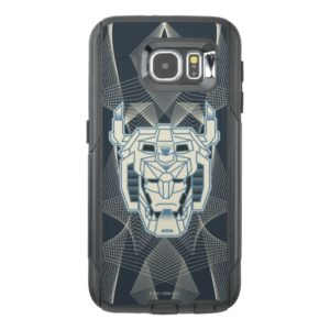 Voltron   Voltron Head Blue and White Outline OtterBox Samsung Galaxy S6 Case